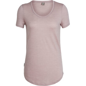 Icebreaker Solace SS Scoop Shirt Dam dusk heather